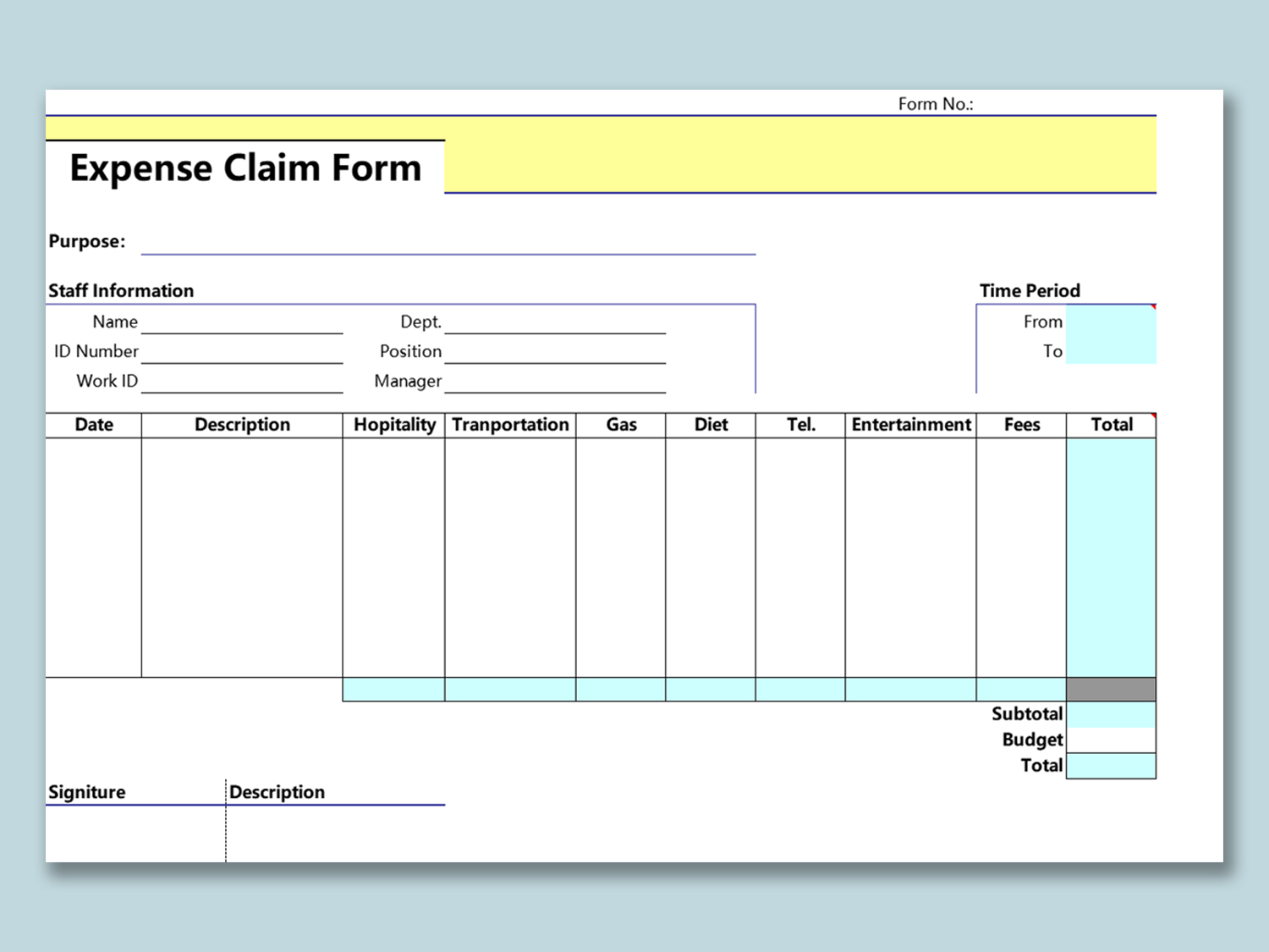 09/09/2019· the excel business expense template is a good starting point if you want an idea of how this form is laid out for professional settings. Wps Template Free Download Writer Presentation Spreadsheet Templates