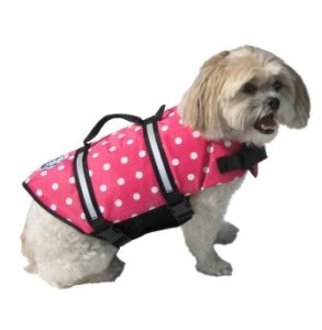 Pink Dog Lifejacket