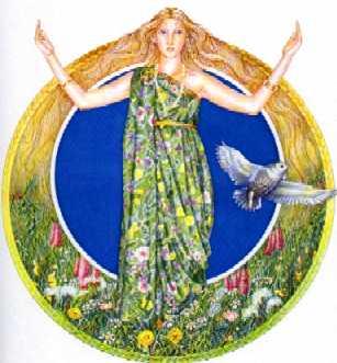 Goddess Blodeuwedd Empowerment