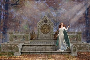 Flidais Goddess of the Forest, Love and Sensuality Empowerment