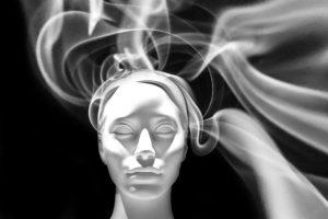 face-smoke-head