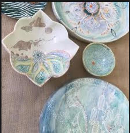 Rumi, Ruchi Gupta, ceramics, haindpainted, inspirational quotes