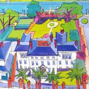 Govenor Dudley Mansion