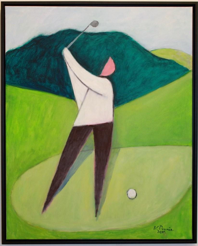 cubist, golfer, warren dennis