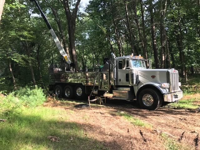 hydro fracking truck