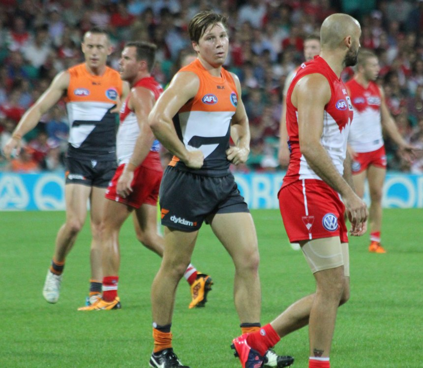Toby Greene gets plenty of the football, yet his disposal skills need to improve