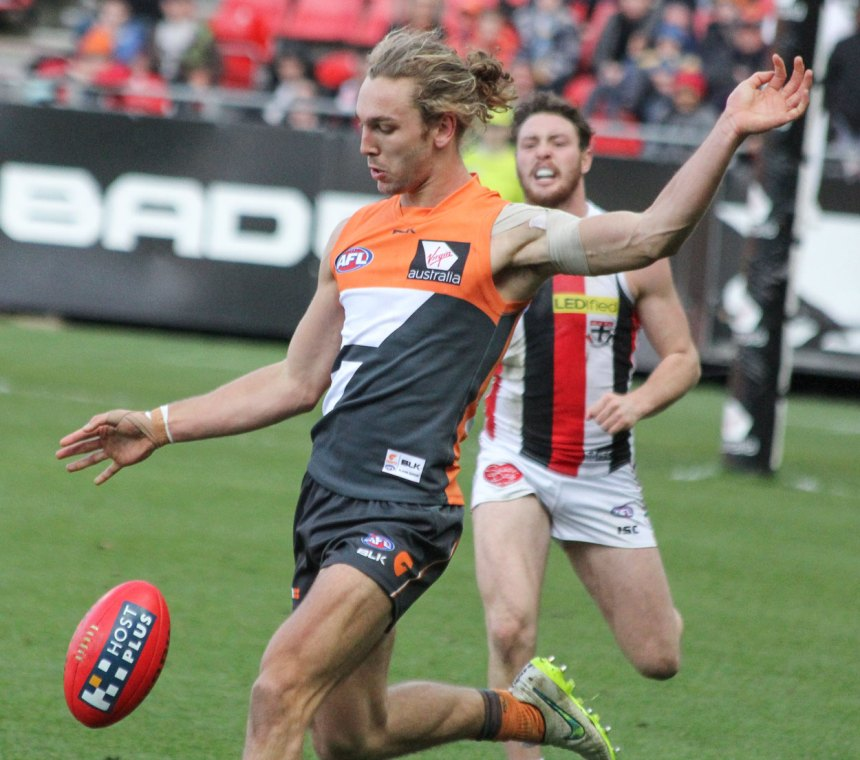 After a torrid past 3 weeks GWS Giants defender Matt Buntine played his best game for the Giants against the Saints