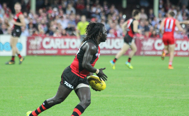 Anthony McDonald-Tipungwuti has a bright future with Essendon with his consistent form in the defense.