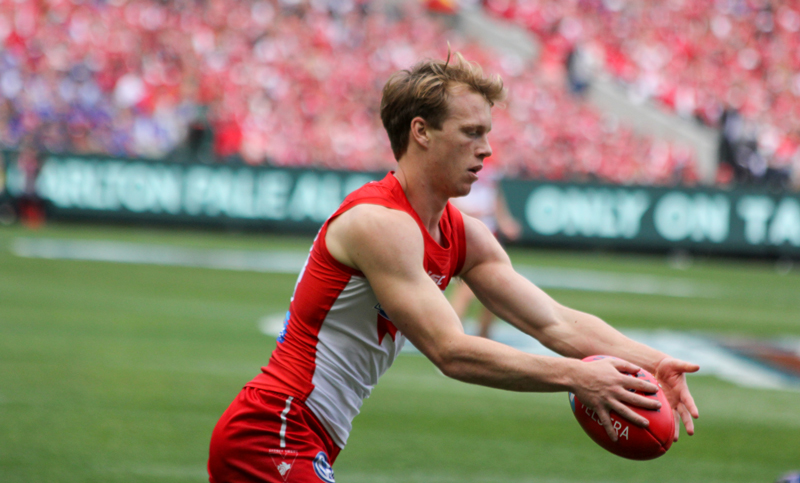 The Swans selection of Callum Mills was a gamble that didnt work. Photo: Jodie Newell
