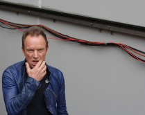 Sting at the 2016 AFL Grand Final. Photo: Jodie Newell