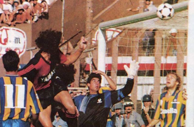 Domizzi scored the only goal of the game in a Clásico where Newell's fielded their Reserve Team.