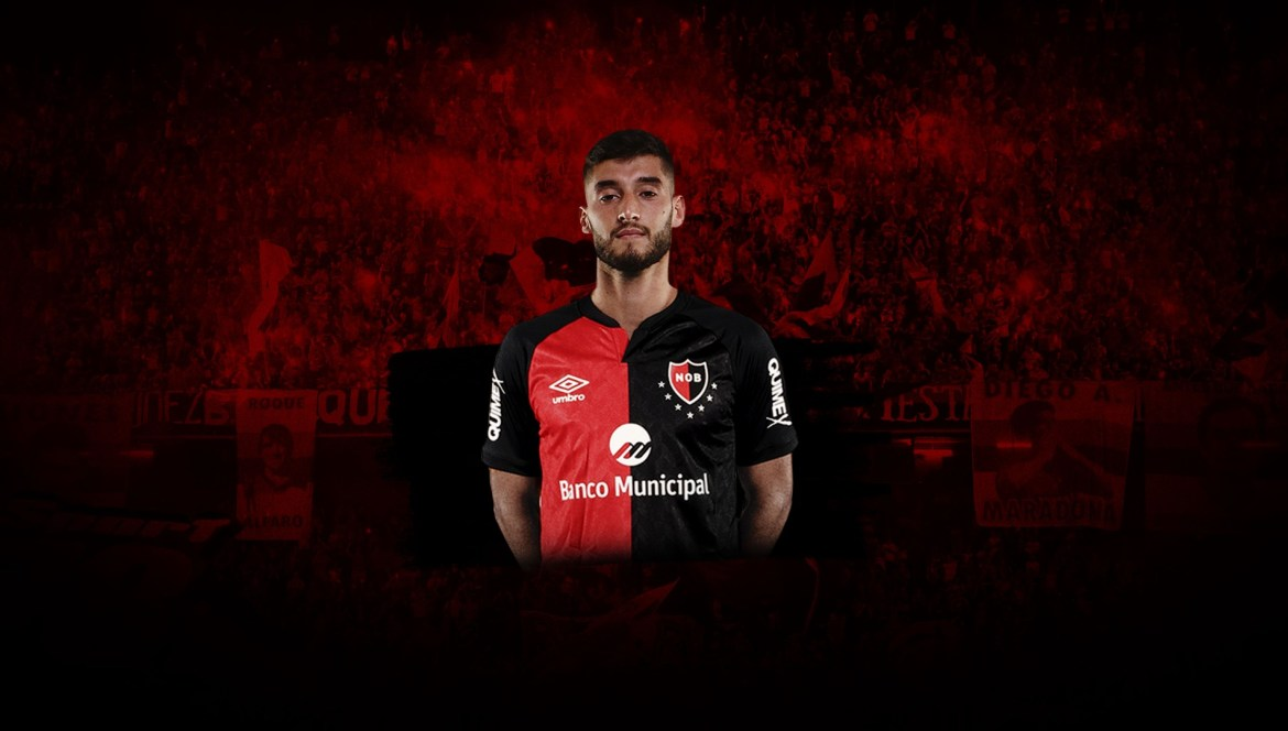 Manuel Guanini signs for Newell's Old Boys on loan