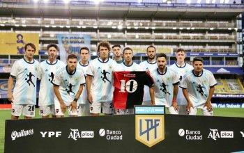 Newell's Maradona Shirt