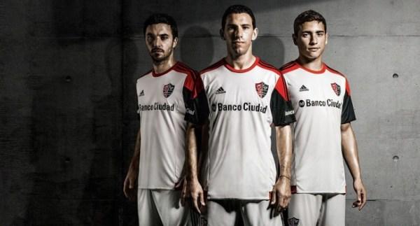 Newell's Players White Adidas Jersey