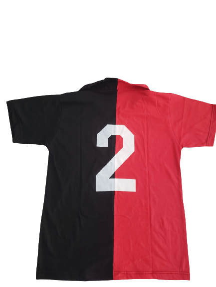 Newell's Old Boys Shirt 1970s with Bielsa's Number