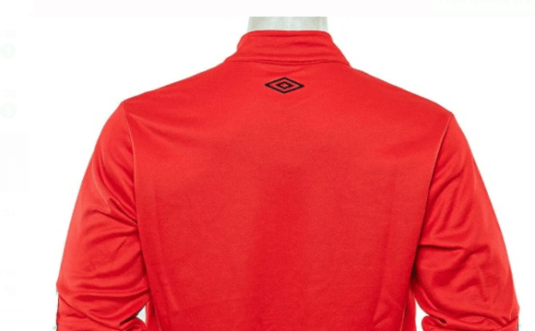 Back of Newell's Red Tracksuit Jacket