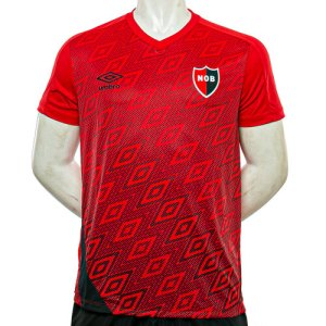 Newell's Old Boys Red Training T-Shirt