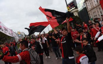 Newell's fans Clasico Rosarino