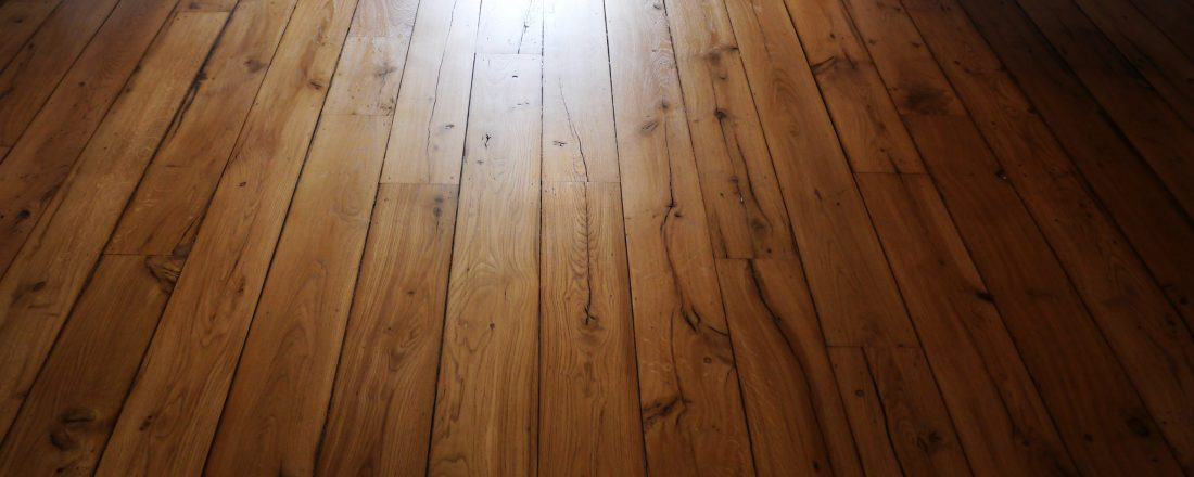 oak wood floor sanded and finished