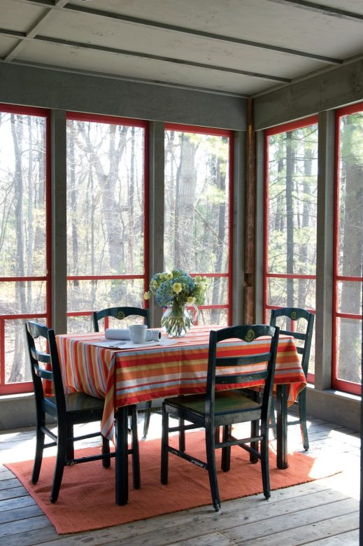 Diy Screened In Porch Budget Home Project Yankee Magazine