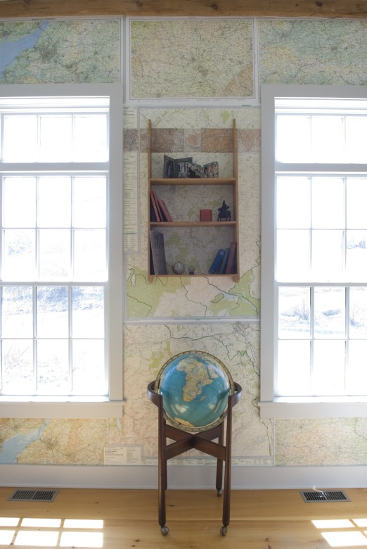 How To Use Maps As Wallpaper Home Projects New England Today