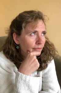 Photograph of Bri McCarroll.  Relationship coach and expert on emotionally focused therapy.