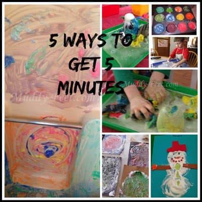 5 Ways To Get 5 Minutes