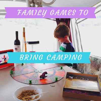 6 Must-Have Family Games to bring Camping