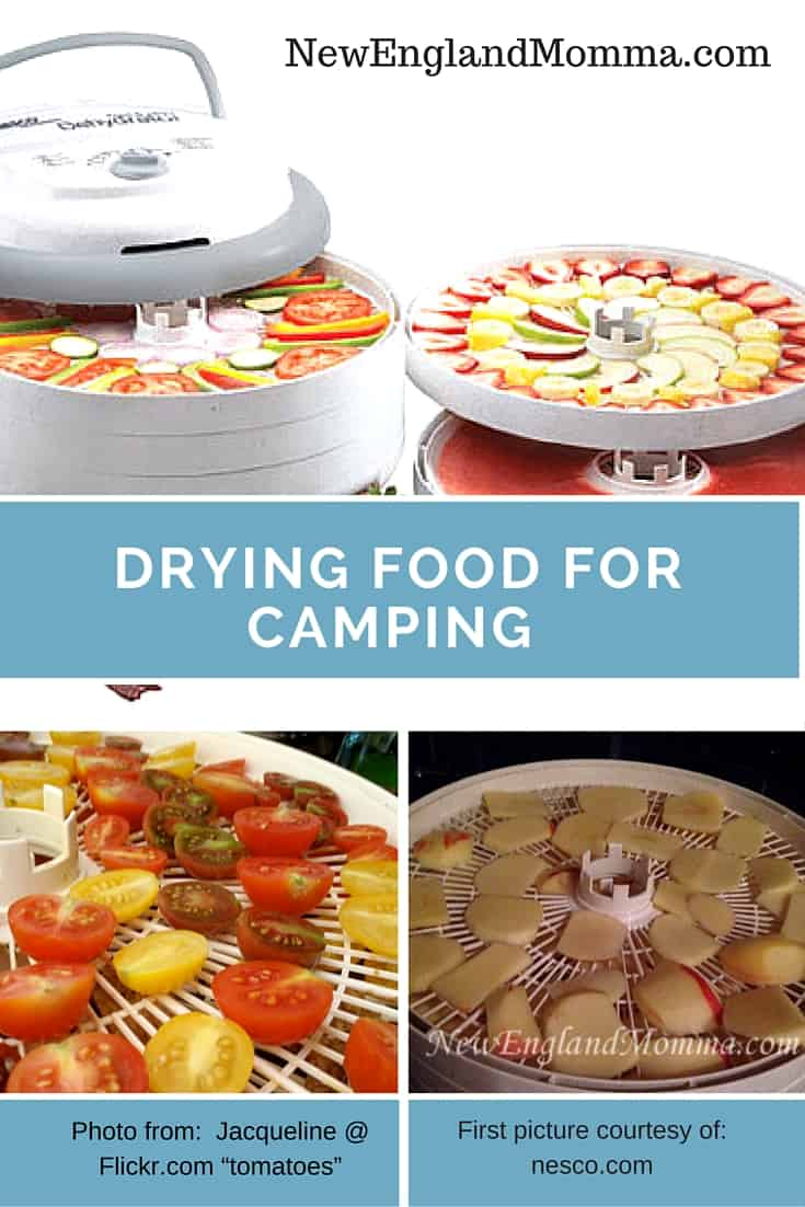 Dehydrate food at home and then take it with you when you go camping or hiking!