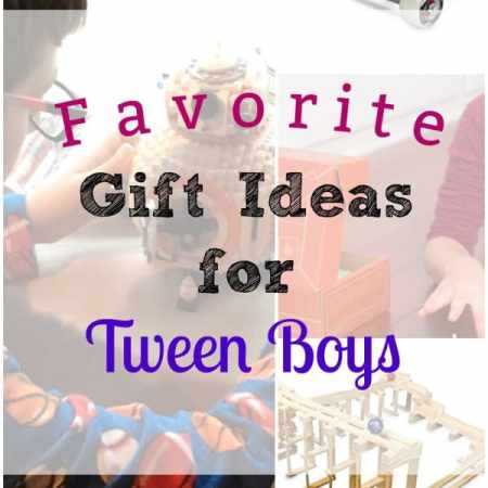 Gift Guide for Tween Boys - From LEGOs to Snap Circuits, find out which gifts are perfect for your Tween boy!