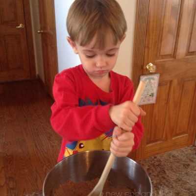 The Cutest Reindeer Cookies by a preschooler