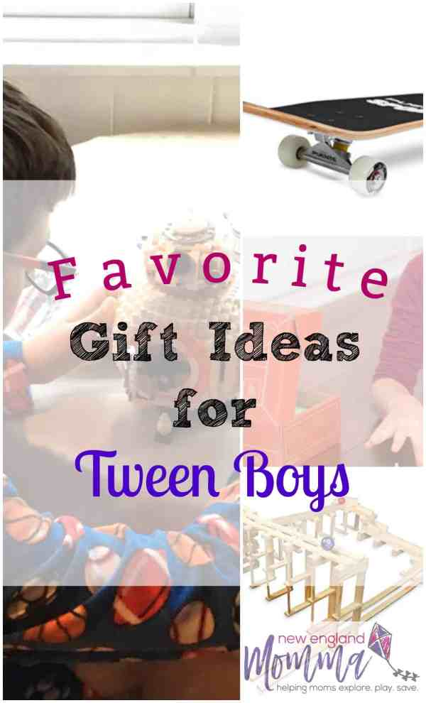 Gift Guide for Tween Boys - From LEGOs to Snap Circuits, find out which gifts are perfect for your Tween boy! #TweenGifts #Tween #Tweens #GiftGuide #GiftGiving