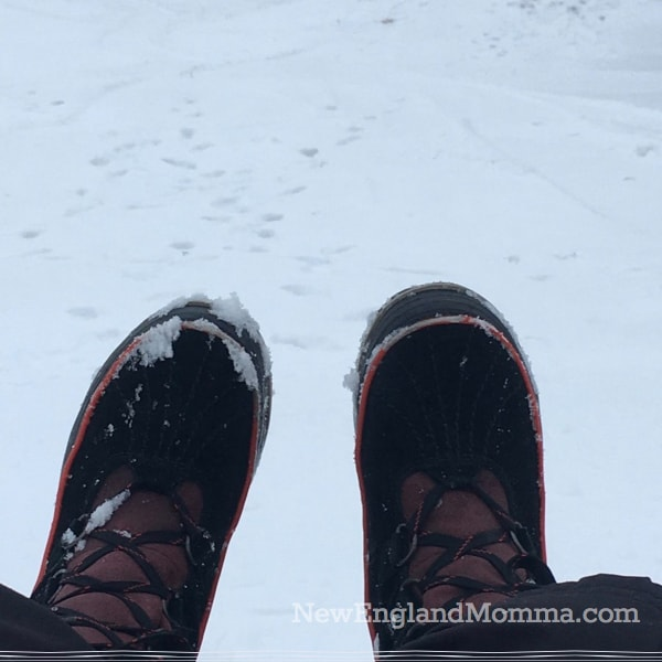 New England weather in one day can be mild and then cold & bitter the next. Learn how to dress in New England during the winter. Warm, water-resistant boots are a must!