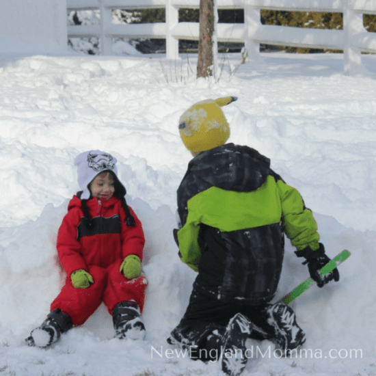 The winter may seem long but it won't last! Here is my 7 Must-Do Kid-Required Activities to do before the snow melts! Easy & fun to do at home! Hand them a shovel and let them dig paths in the snow or build a snow fort! Let their imaginations run wild!