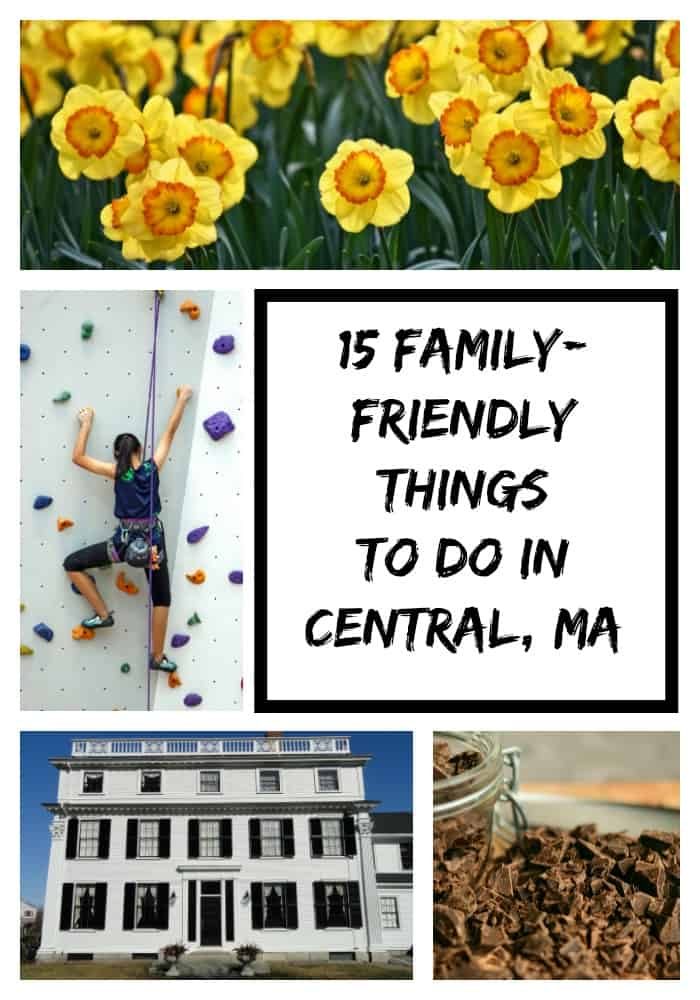 Central Massachusetts offers a wide range of activities and places to see. Here are 15 things to do as a starting point for your vacation planning.