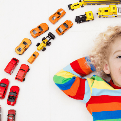 Rainbow Car Find – Free Printable!