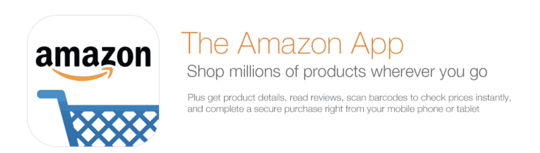 Download the Amazon App for more deals, compare prices as well as add items to your watch list!
