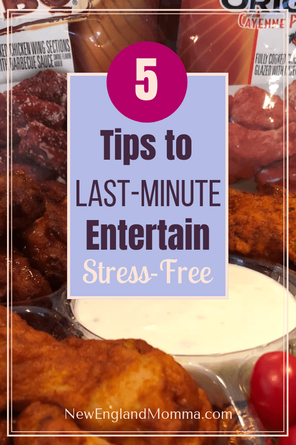 Having Kids means entertaining and often last minute. Here are 5 Tips to have last-minute get togethers stress free!