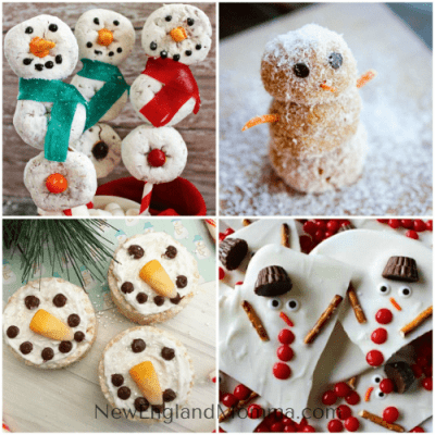 15 Cute & Yummy Snowman Themed Recipes for Winter