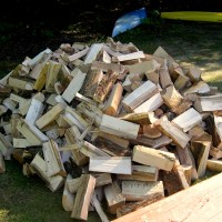 The Chore of Stacking Firewood
