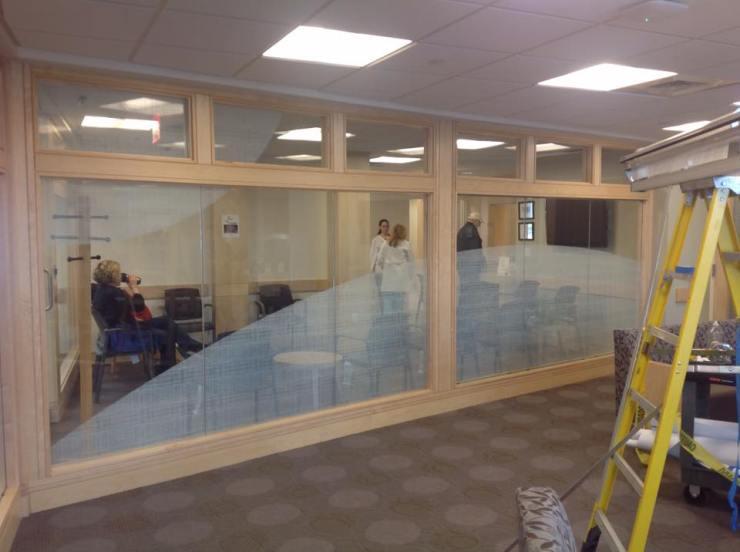 Hospital Uses Decorative Window Film to Compliment Decor 3