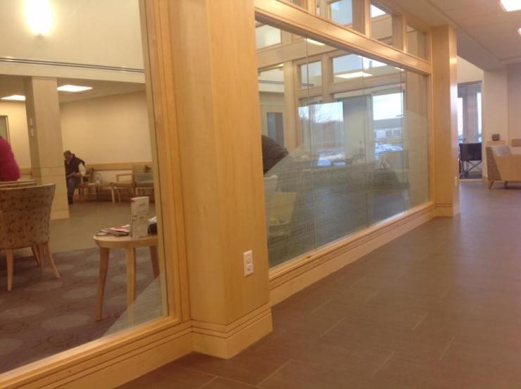 Hospital Uses Decorative Window Film to Compliment Decor 2