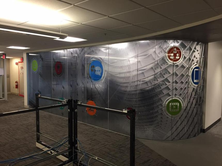 Custom Decorative Films Create Unique Customer Experience Center 3