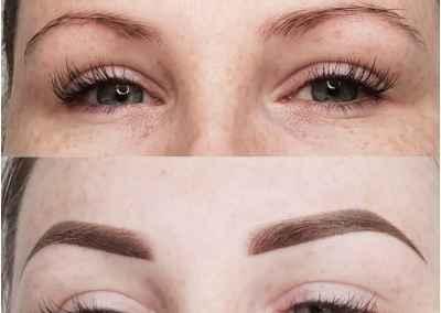 Semi Permanent Combination Eyebrows