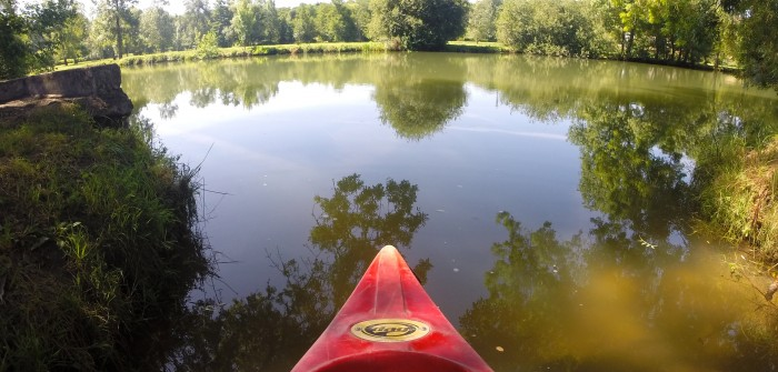 Naviguer sur l'Indre en canoë-kayak