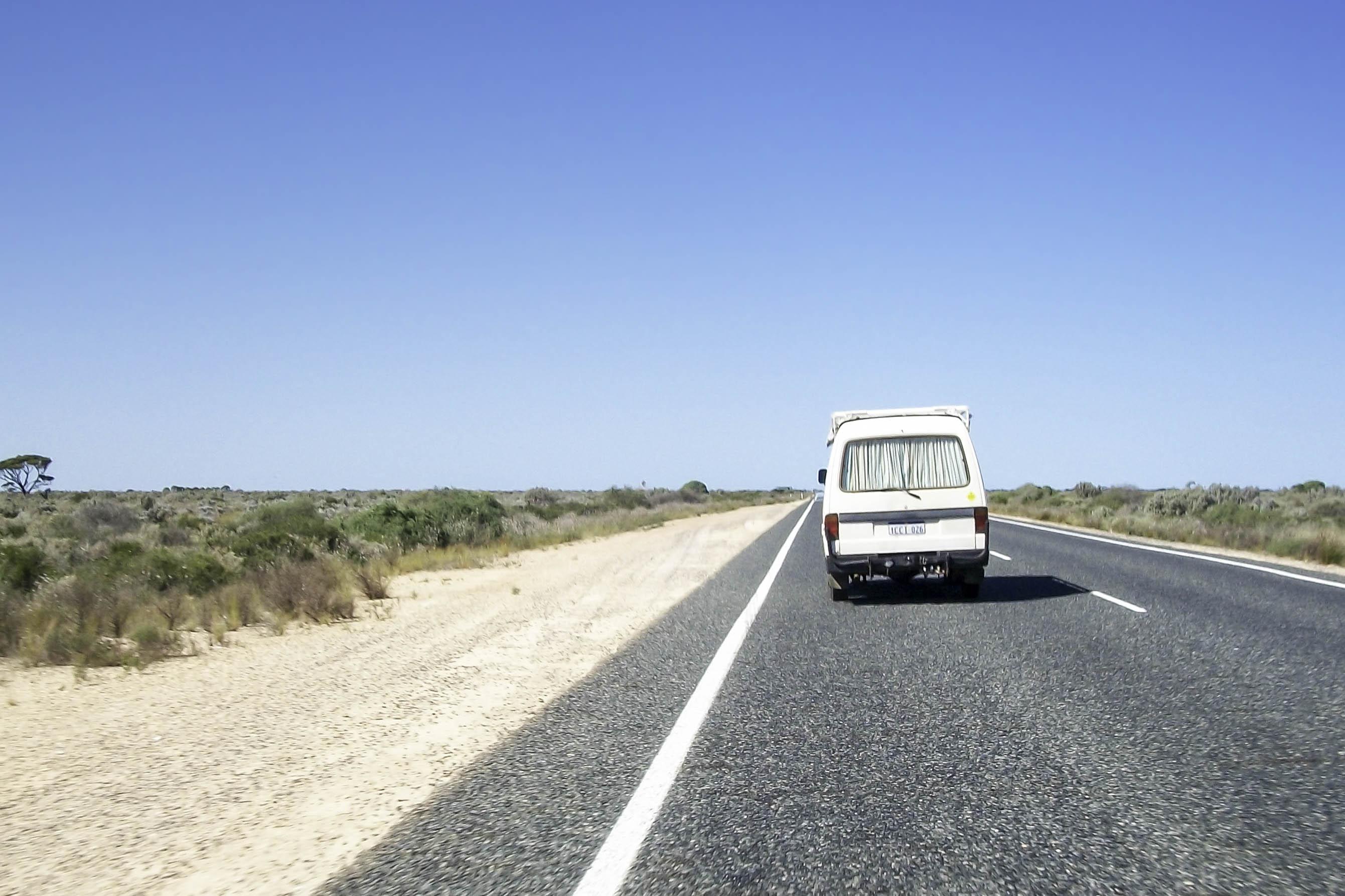 bien choisir son van en Australie