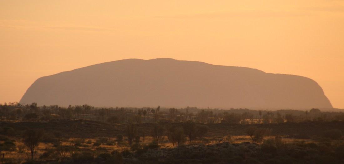 Uluru encore éteint