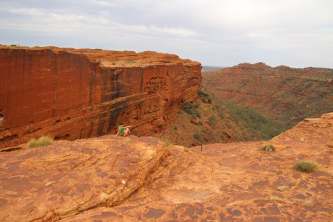 L'impressionnante sur Kings Canyon