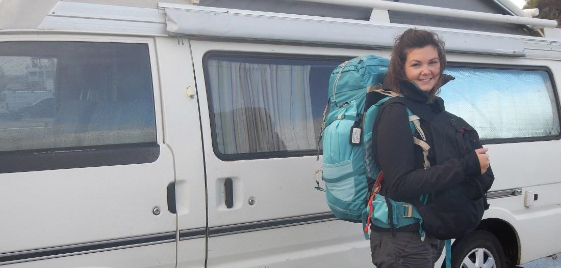 être backpacker, sa vie sur le dos