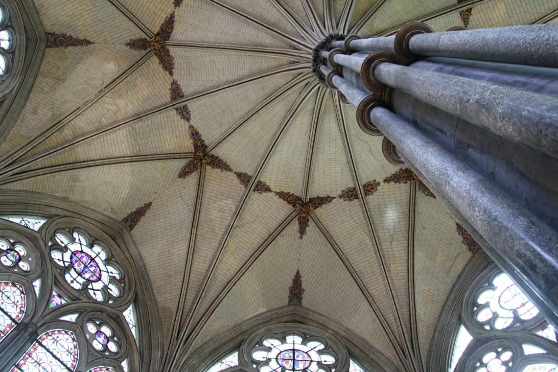 A l'intérieur de la chapelle